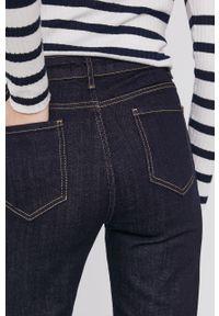 Niebieskie jeansy bootcut Answear Lab gładkie, wakacyjne
