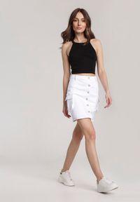 Renee - Biała Spódnica Adreanore. Stan: podwyższony. Kolor: biały