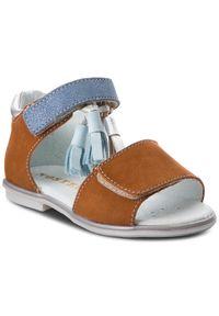 Brązowe sandały Mido z aplikacjami, na co dzień, casualowe