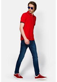 Niebieskie jeansy Lancerto z haftami, vintage
