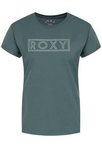 Zielony t-shirt Roxy