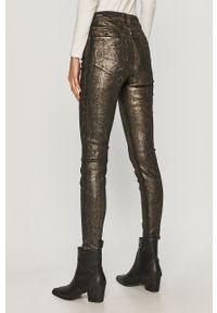 Czarne spodnie materiałowe AllSaints