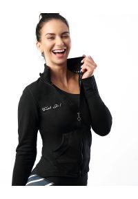 FJ! - Bluza RULES. Materiał: poliester, dzianina, elastan. Wzór: aplikacja. Sport: fitness
