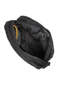 CATerpillar - Saszetka CATERPILLAR - Ryan 83434 Black Heat Embossed. Kolor: czarny. Materiał: materiał