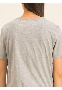 Szary t-shirt Superdry