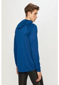 Niebieska bluza rozpinana Under Armour casualowa, na co dzień, bez kaptura #5
