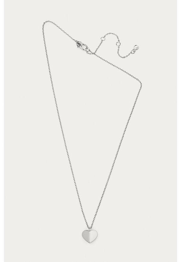 Srebrny naszyjnik Kate Spade metalowy