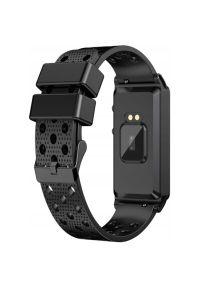 Czarny zegarek Bemi sportowy
