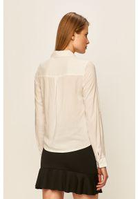 Biała koszula TALLY WEIJL klasyczna, z klasycznym kołnierzykiem, na co dzień, długa