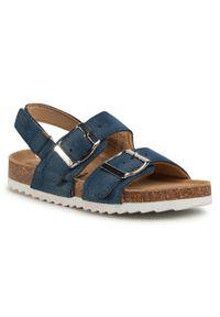 Niebieskie sandały Xti klasyczne, na lato