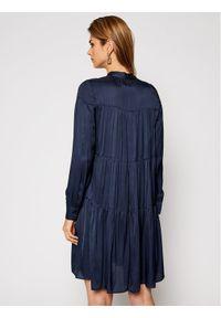 Niebieska sukienka Trussardi Jeans na co dzień, casualowa, prosta