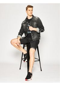Czarne spodenki jeansowe Pepe Jeans