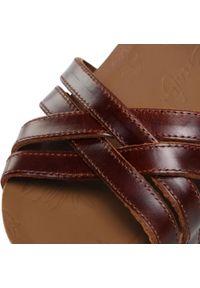 Brązowe sandały Panama Jack