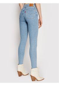 Levi's® Jeansy 721™ High Rise 18882-0332 Niebieski Skinny Fit. Kolor: niebieski. Materiał: jeans
