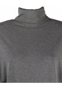 ALEXANDRE VAUTHIER - Szare body z golfem. Kolor: szary. Materiał: tkanina. Długość: długie