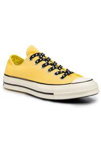 Żółte buty sportowe Converse