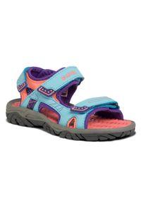 Niebieskie sandały Hi-tec na lato