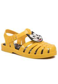 Żółte sandały melissa