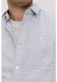 Tom Tailor - Koszula. Typ kołnierza: kołnierzyk klasyczny. Kolor: niebieski. Materiał: tkanina. Długość rękawa: krótki rękaw. Długość: krótkie. Styl: klasyczny