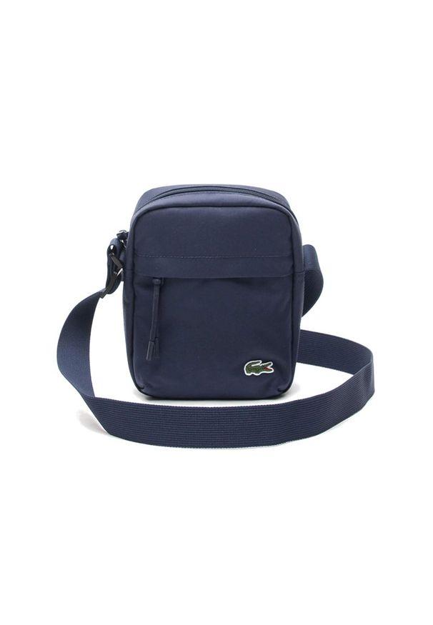 Lacoste - LACOSTE VERTICAL CAMERA BAG > NH2102NE-992. Materiał: tkanina, poliester. Wzór: gładki