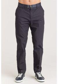 Spodnie Emporio Armani z aplikacjami