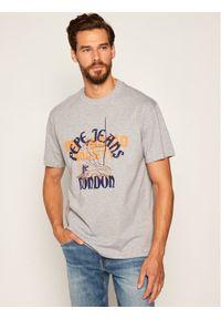 Pepe Jeans T-Shirt Samson PM507275 Szary Regular Fit. Kolor: szary