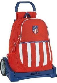 Atletico Torba szkolna z kółkami Evolution Atltico Madrid 20/21 Niebieski Biały Czerwony. Kolor: niebieski, biały, wielokolorowy, czerwony