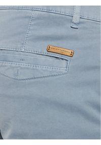 Baldessarini Spodnie materiałowe Justo 16828/000/2206 Niebieski Regular Fit. Kolor: niebieski. Materiał: elastan, materiał, bawełna