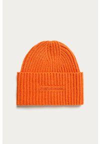 Pomarańczowa czapka Peak Performance