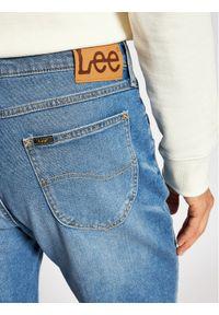Niebieskie spodenki jeansowe Lee