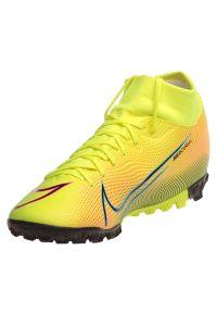 Buty męskie piłkarskie Nike Mercurial Superfly 7 Academy BQ5435. Materiał: skóra, guma, syntetyk. Szerokość cholewki: normalna. Sport: piłka nożna