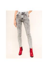 Szare jeansy slim Diesel