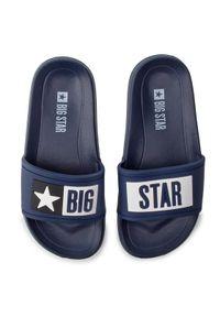 Big-Star - BIG STAR Klapki DD374152 Granatowy. Kolor: niebieski