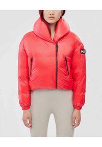 Mackage - MACKAGE - Czerwona kurtka puchowa Essia. Kolor: czerwony. Materiał: puch