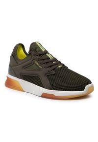 Sneakersy GANT - Hightown 22637642 Ieaf Green G762. Okazja: na spacer, na co dzień. Kolor: zielony. Materiał: skóra, zamsz, materiał. Szerokość cholewki: normalna. Styl: klasyczny, sportowy, casual