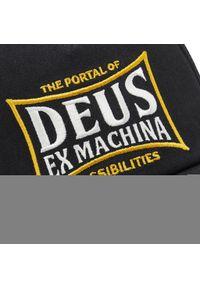 Deus Ex Machina - Czapka z daszkiem DEUS EX MACHINA - Twinbox Trucker DMP207835 Black. Kolor: czarny. Materiał: materiał, bawełna, poliester