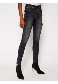 Tommy Jeans Jeansy Super Skinny Fit Sylvia DW0DW09055 Czarny Super Skinny Fit. Kolor: czarny