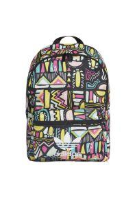 Wielokolorowy plecak Adidas w kolorowe wzory