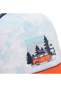 Buff - Czapka z daszkiem BUFF - Trucker Cap 127793.555.30.00 Elvan Multi. Kolor: niebieski. Materiał: materiał, bawełna, poliester