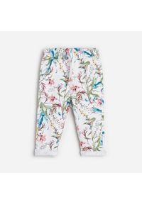 Spodnie Reserved w kwiaty