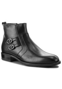 Czarne buty zimowe Aldo Bruè na co dzień, casualowe, z cholewką