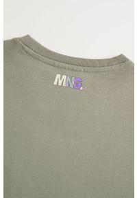 T-shirt Mango Man casualowy, na co dzień