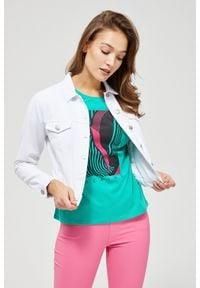 MOODO - Katana jeansowa. Materiał: jeans