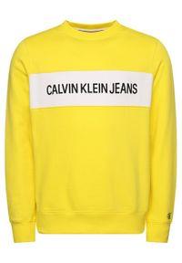 Żółta bluza Calvin Klein Jeans
