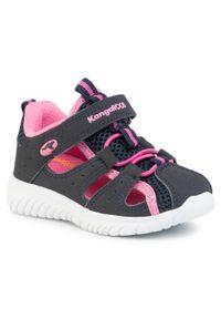 Czarne sandały KangaRoos rockowe