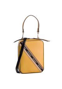Żółta torebka klasyczna Monnari klasyczna