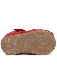 Czerwone sandały Froddo na lato