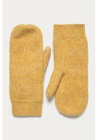 Pomarańczowe rękawiczki Pieces #3