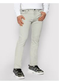Versace Jeans Couture Jeansy A2GVA0S1 Szary Slim Fit. Kolor: szary