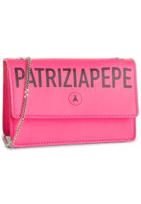 Różowa nerka Patrizia Pepe